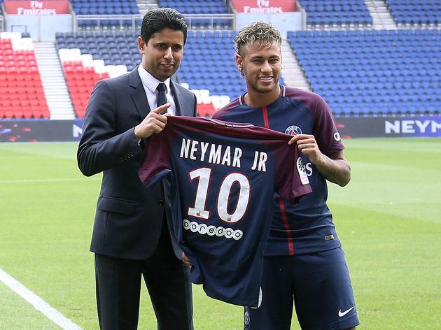 Neymar Jr,Nasser Al-Khelaifi