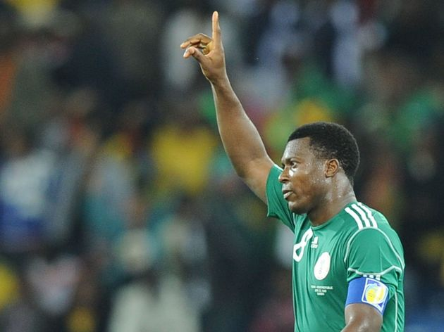 Nigeria's striker Yakubu Aiyegbeni celeb