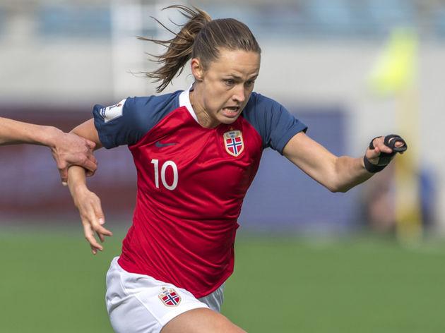 Norway v Republic of Ireland: 2019 FIFA Women's World Cup Qualifier