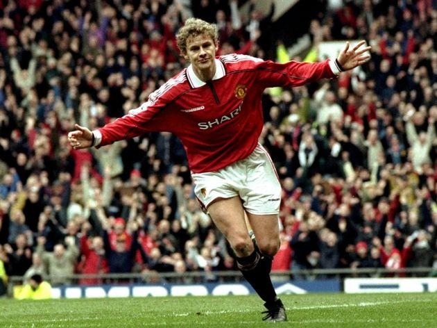 Ole Gunnar Sloskjaer of Manchester United