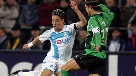 Olympique de Marseille midfielder Samir