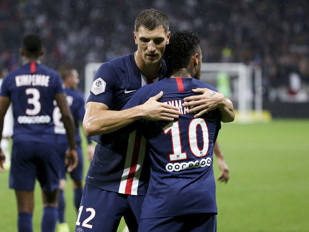 Neymar Jr,Thomas Meunier