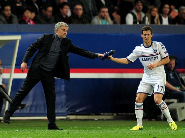 Jose Mourinho,Eden Hazard