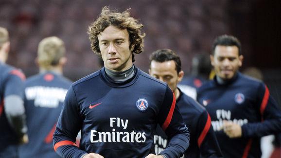 Paris Saint-Germain's defender Diego Lug