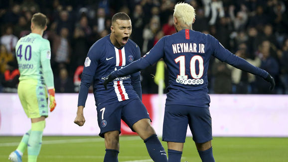 Neymar Jr,Kevin Mbappe