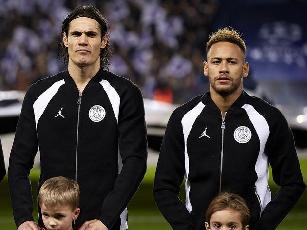 Neymar Jr,Kylian Mbappe,Edinson Cavani