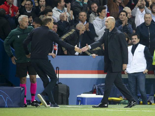 Thomas Tuchel,Zinedine Zidane
