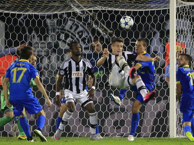 Partizan Belgrade v BATE - UEFA Champions League: Qualifying Round Play Off Second Leg