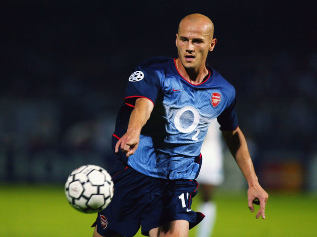 Pascal Cygan of Arsenal