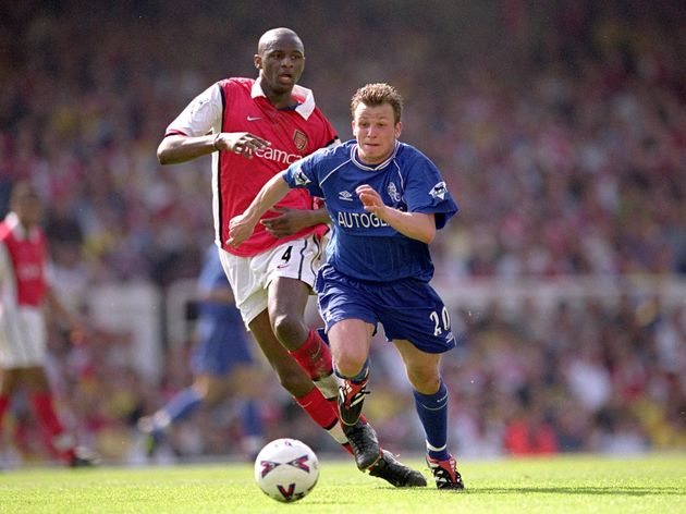 Patrick Vieira and Jody Morris