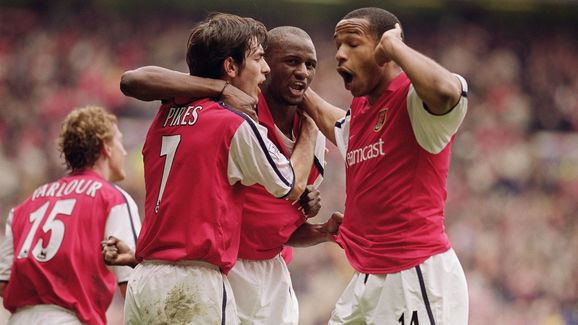 Patrick Vieira, Robert Pires, Thierry Henry