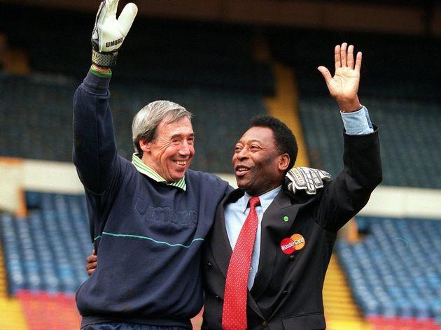 Pele at Wembley
