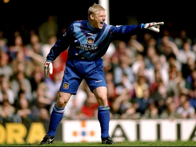 Peter Schmeichel of Manchester United