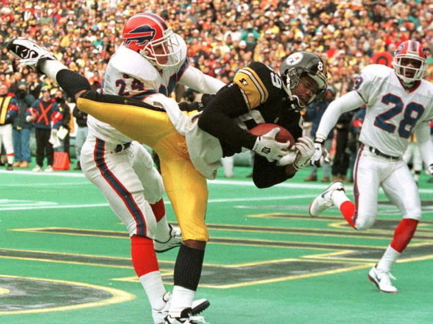 Pittsburgh Steelers wide receiver Eric Mills (89)