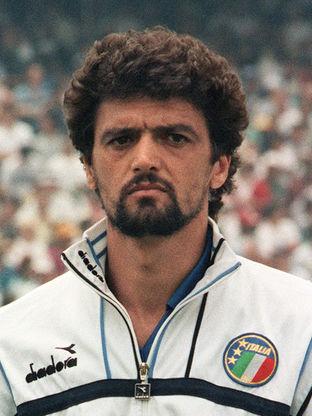 Portrait of Italian forward Alessandro A