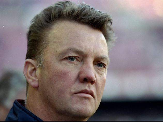 Portrait of Louis van Gaal