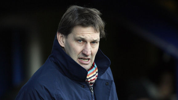 Portsmouth Manager Tony Adams is picture