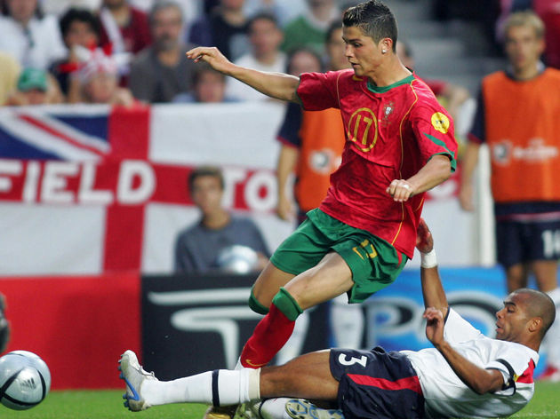Portugal's forward Cristiano Ronaldo (To