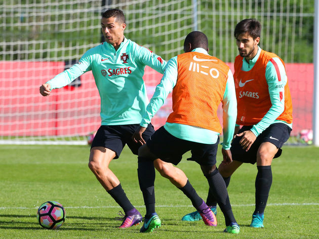 Portugal Training Session and Press Conference