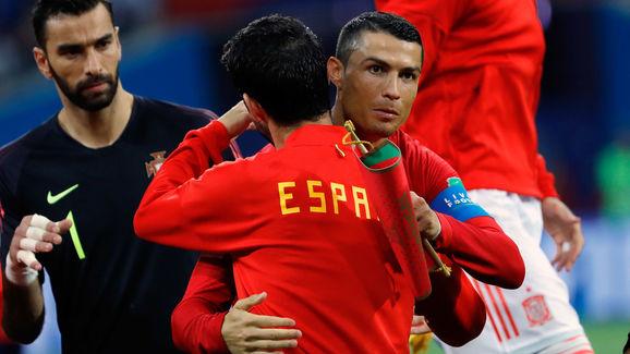 Cristiano Ronaldo - Soccer Player,Isco - Soccer Player