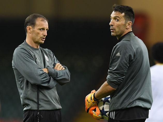 Gianluigi Buffon,Massimiliano Allegri