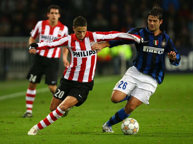 PSV Einhoven v Inter Milan - UEFA Champions League