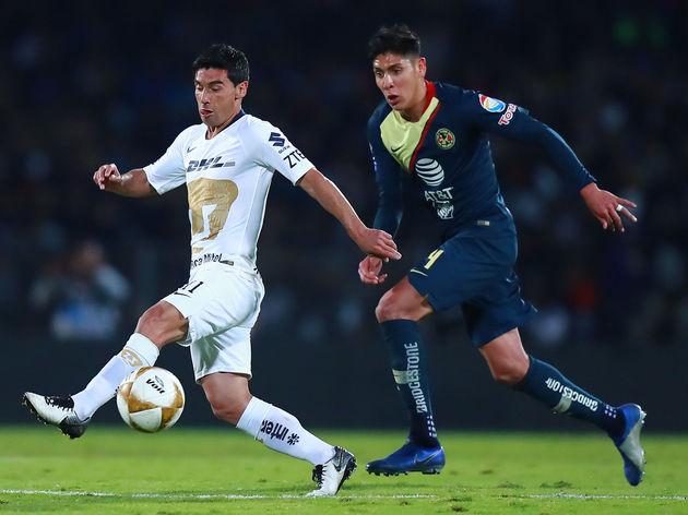 Pumas UNAM v America - Playoffs Torneo Apertura 2018 Liga MX