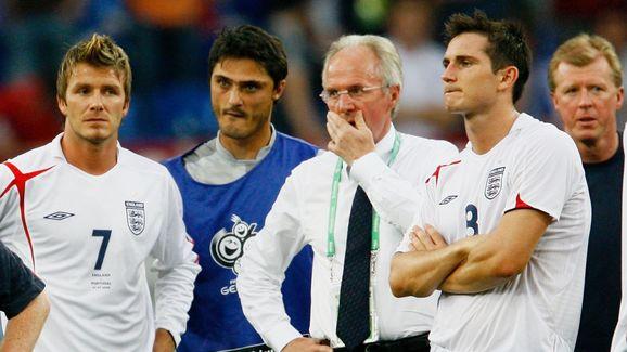 Sven Goran Eriksson,David Beckham,Frank Lampard