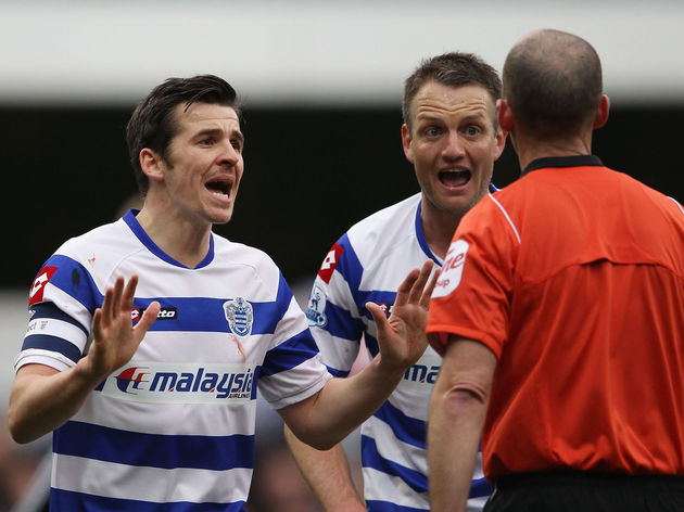 Joey Barton,Clint Hill,Mike Dean