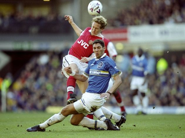 Ray Parlour and Marco Materazzi