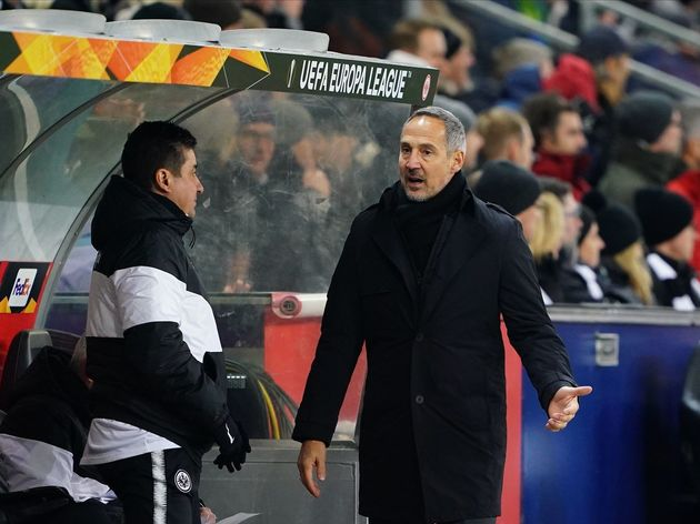 RB Salzburg v Eintracht Frankfurt - UEFA Europa League Round of 32: Second Leg