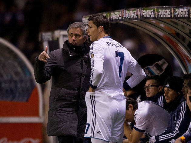 Jose Mourinho,Cristiano Ronaldo