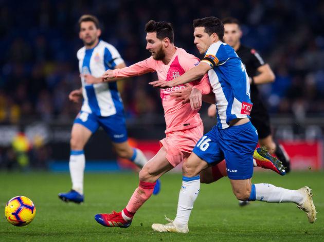 Lionel Messi,Javi Lopez