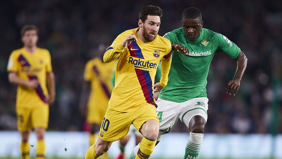 William Carvalho,Lionel Messi