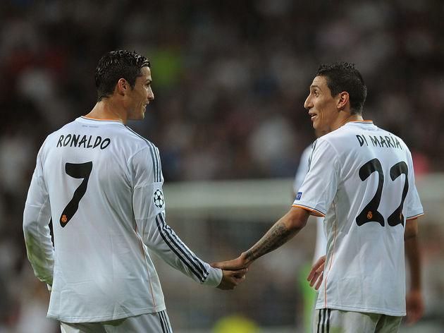 Angel Di Maria,Cristiano Ronaldo