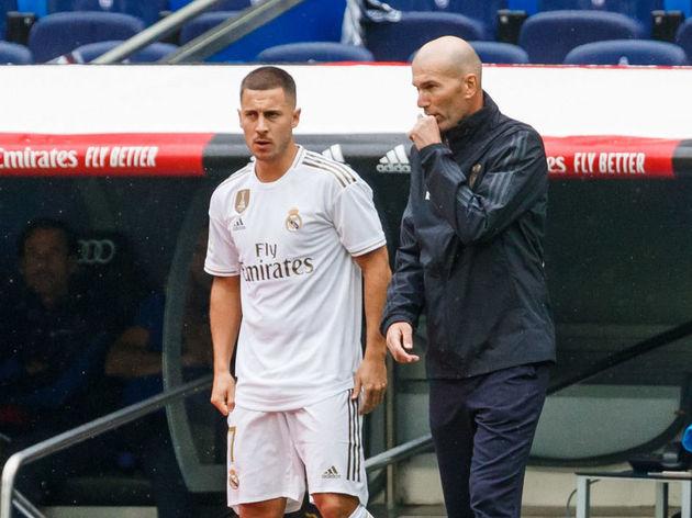 Eden Hazard,Zinedine Zidane