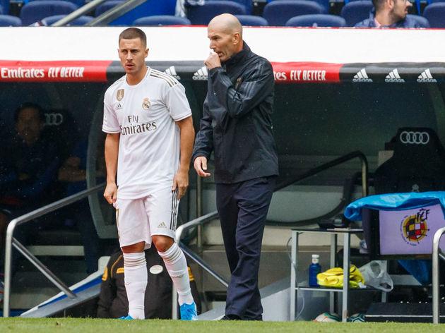 Zinedine Zidane,Eden Hazard