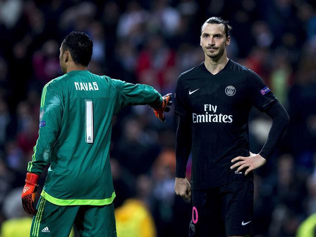 Keylor Navas,Zlatan Ibrahimovic