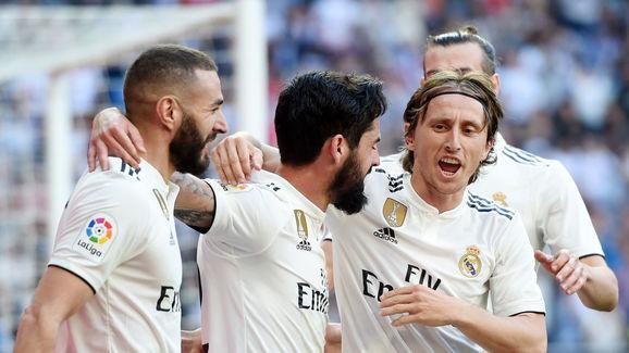 Isco,Luka Modric,Gareth Bale,Karim Benzema