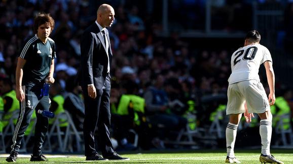 Zinedine Zidane,Marco Asensio