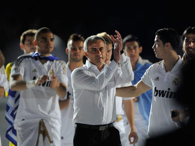 Cristiano Ronaldo,Jose Mourinho