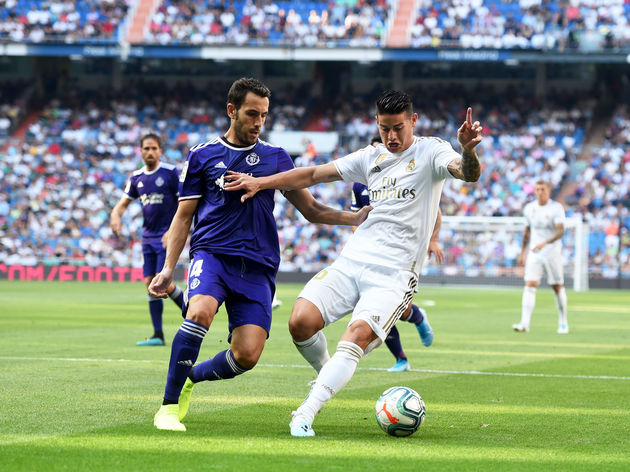 Real Madrid And Valladolid Draw