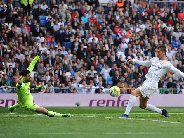 Cristiano Ronaldo,Asier Riesgo