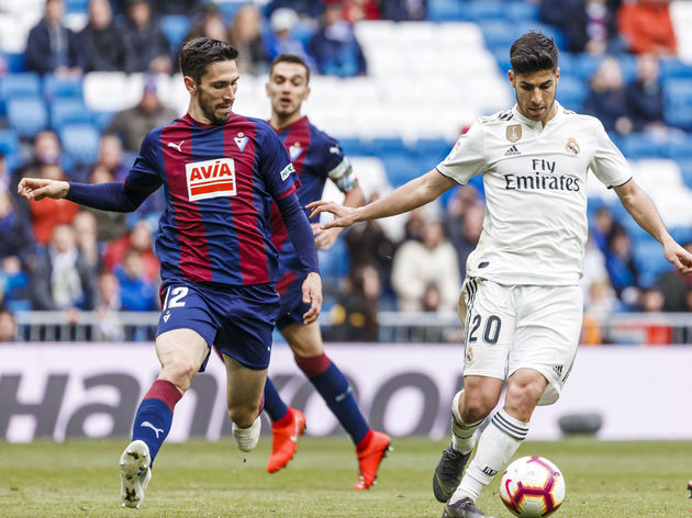 Image result for Eibar vs Real Madrid