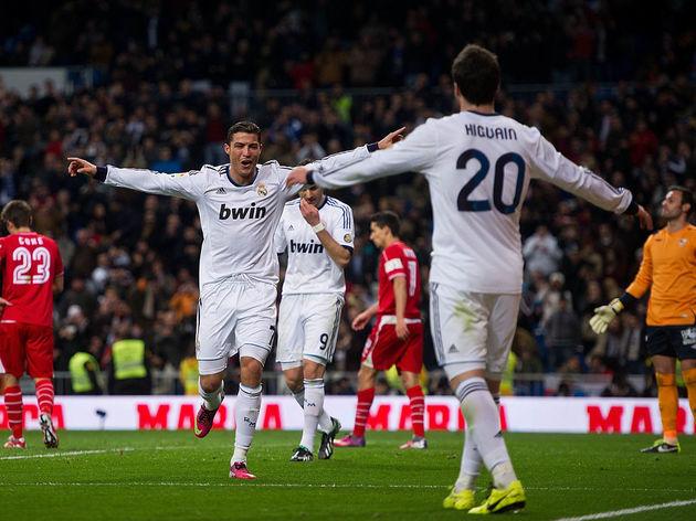 Cristiano Ronaldo,Gonzalo Higuain