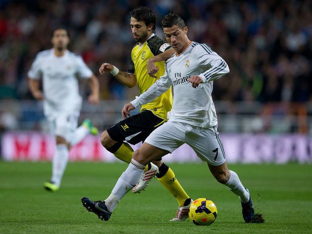 Nicolas Pareja,Cristiano Ronaldo