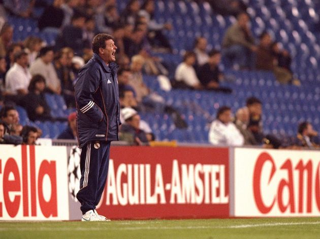 Real Madrid coach John Toshack