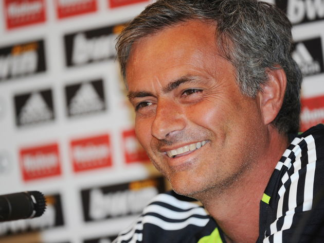 Real Madrid coach Jose Mourinho answers