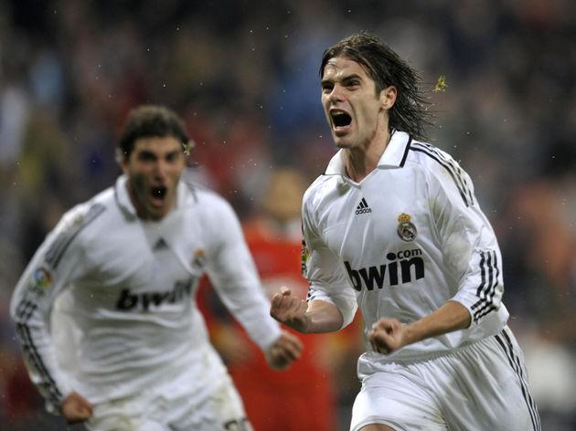 Real Madrid's Argentinian Fernando Gago