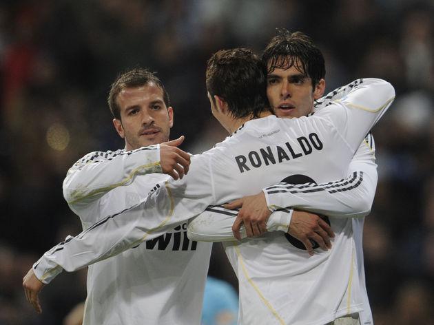 Real Madrid's Brazilian midfielder Kaka
